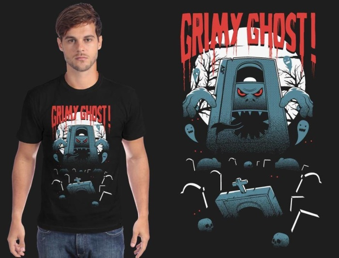 grimy_ghost_t-shirts